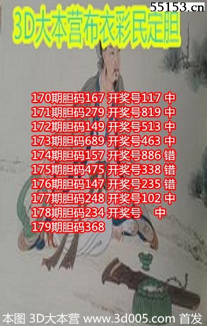 丹东福彩3D18179期丹东彩民漫画图谜原创