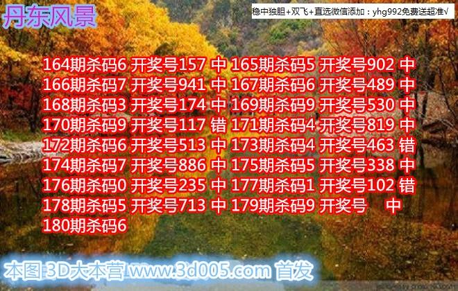 丹东福彩3D2018180期丹东风景画迷原创